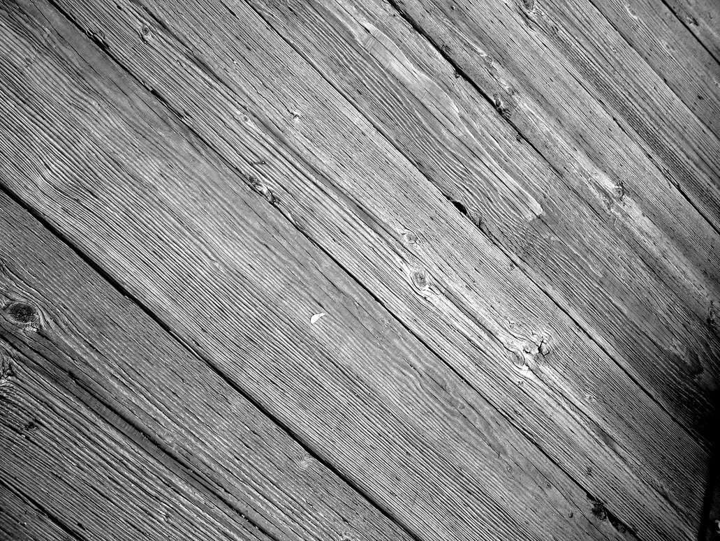 PSD Mockup Wood Floor Boards Black and White