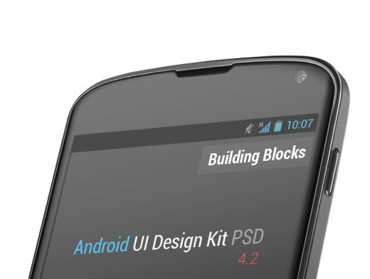 Google, Android, Nexus, GUI, Interface, Kit, Smartphone, Mobile, App, PSD, Mockups