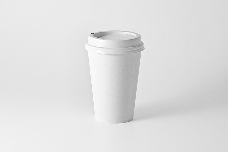 White Starbucks Coffee Cup