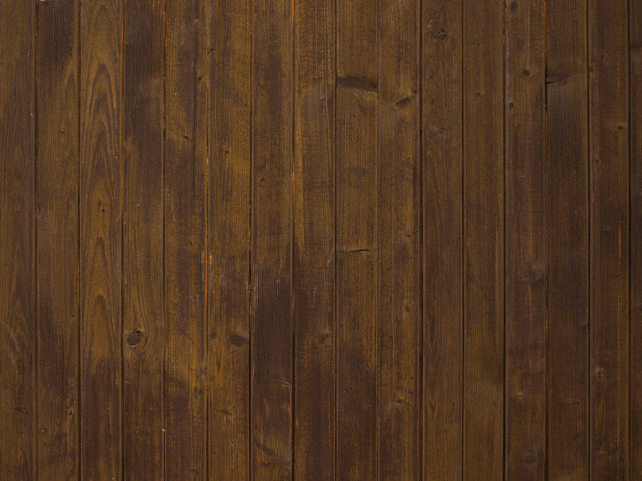 PSD Mockups Dark Stained Wainscoting Wood Panelling