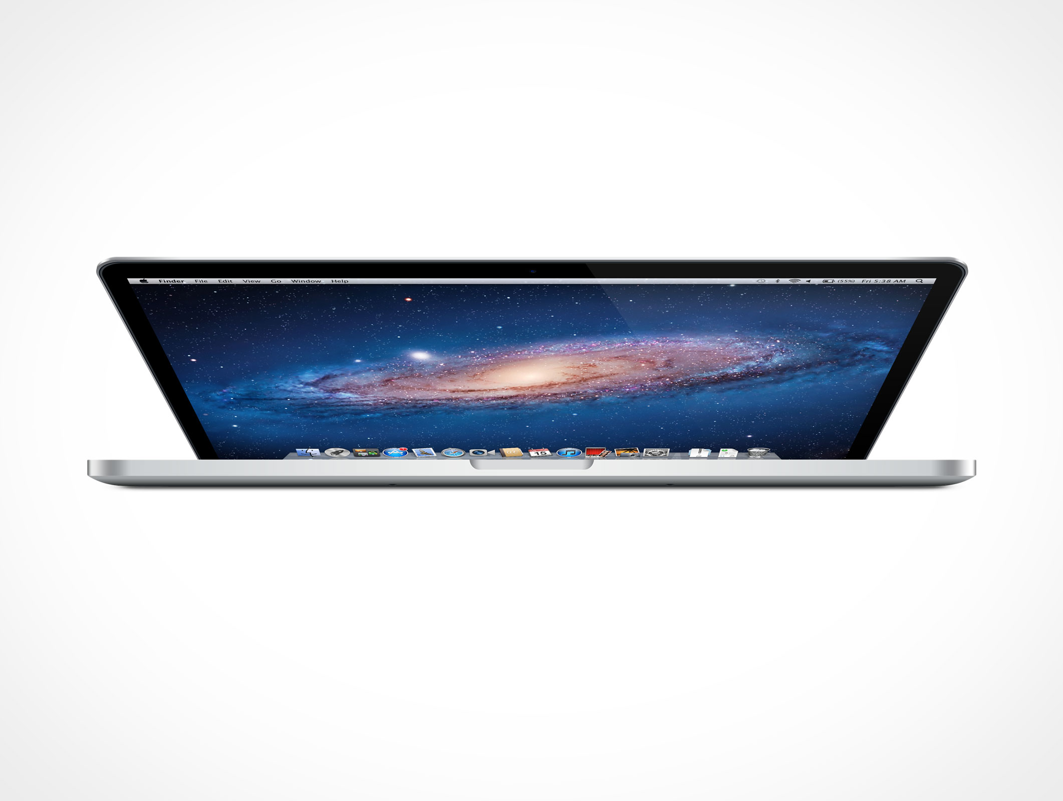 Macbook Pro Retina PSD Mockup Action