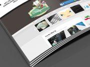 Magazine Spread Mockup Smartlayers