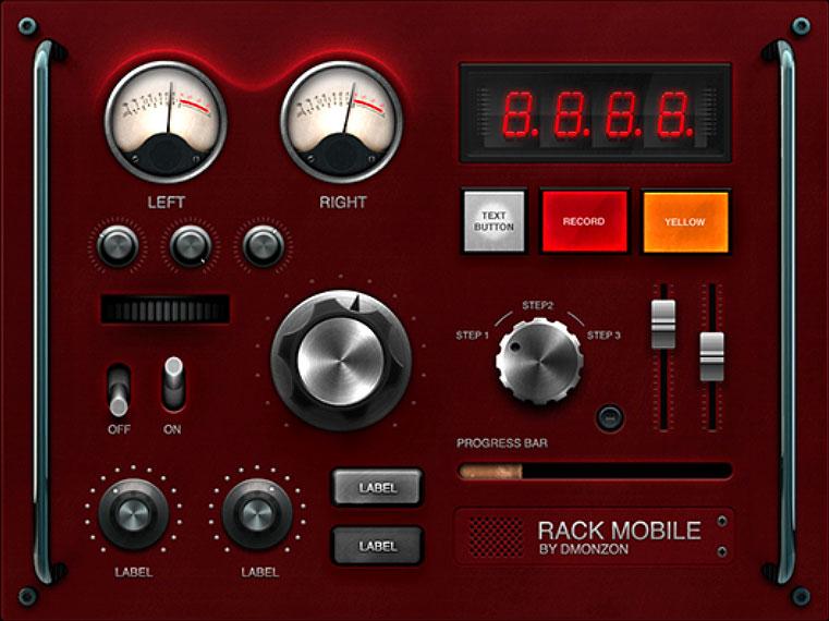 Rack Mount Audio Tuner GUI PSD