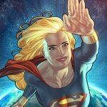 Supergirl Flying DC Comics