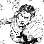 Superman Kline Lineart Artwork DC Comics