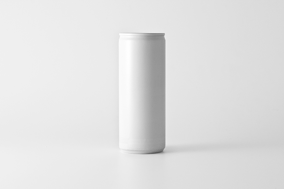 White Soda Soft Drink Can