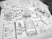 Android Mobile App Wireframes