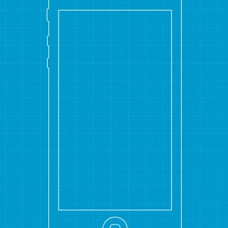 Fireworks iPhone Wireframe Template Blueprint Freebie