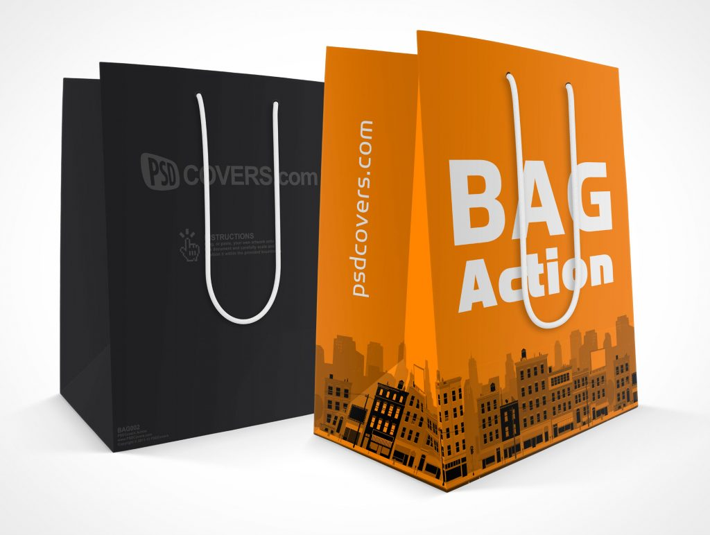 Mockup Shopping Paper Bag