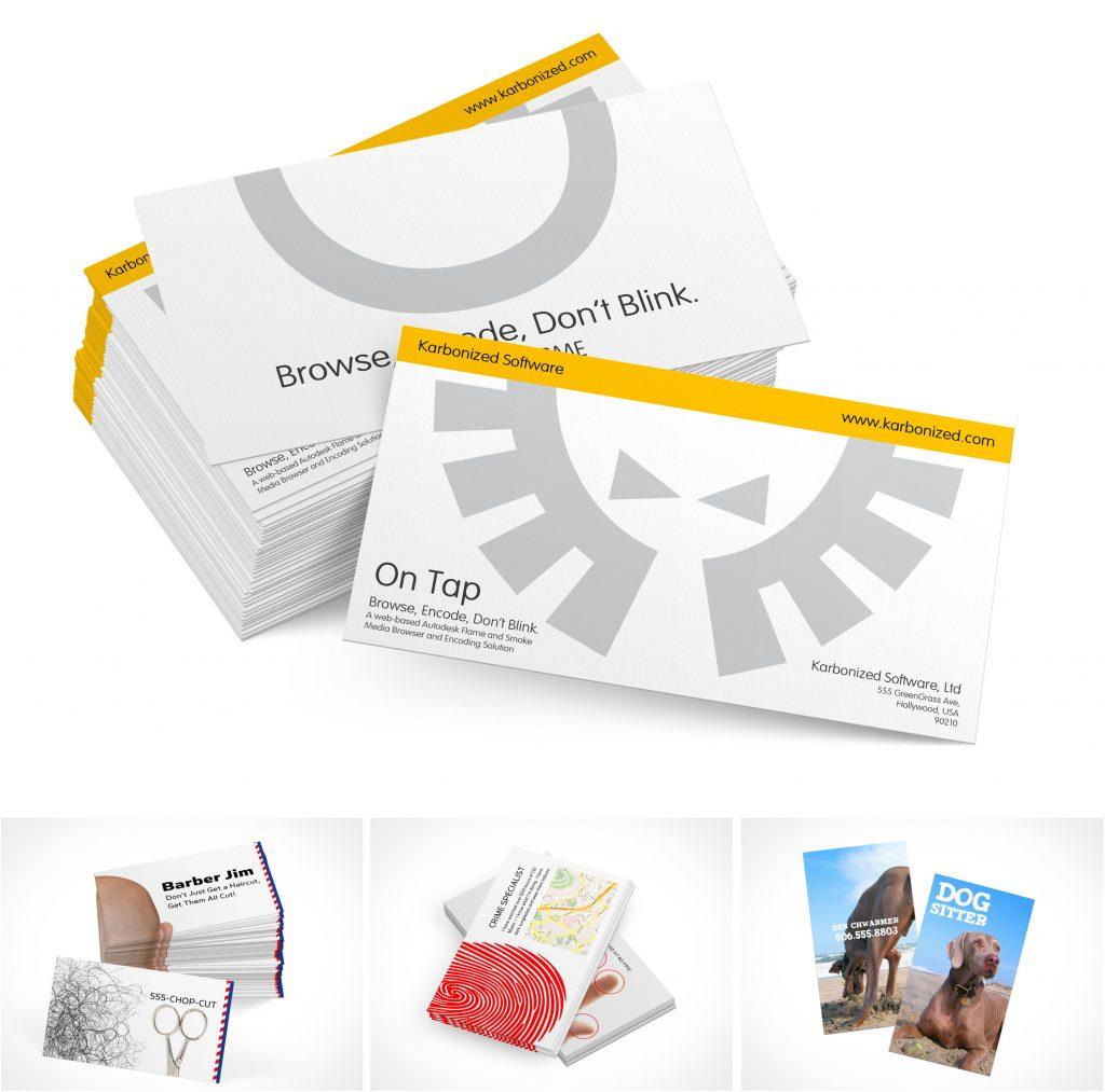 PSD Business Card Mockup Templates