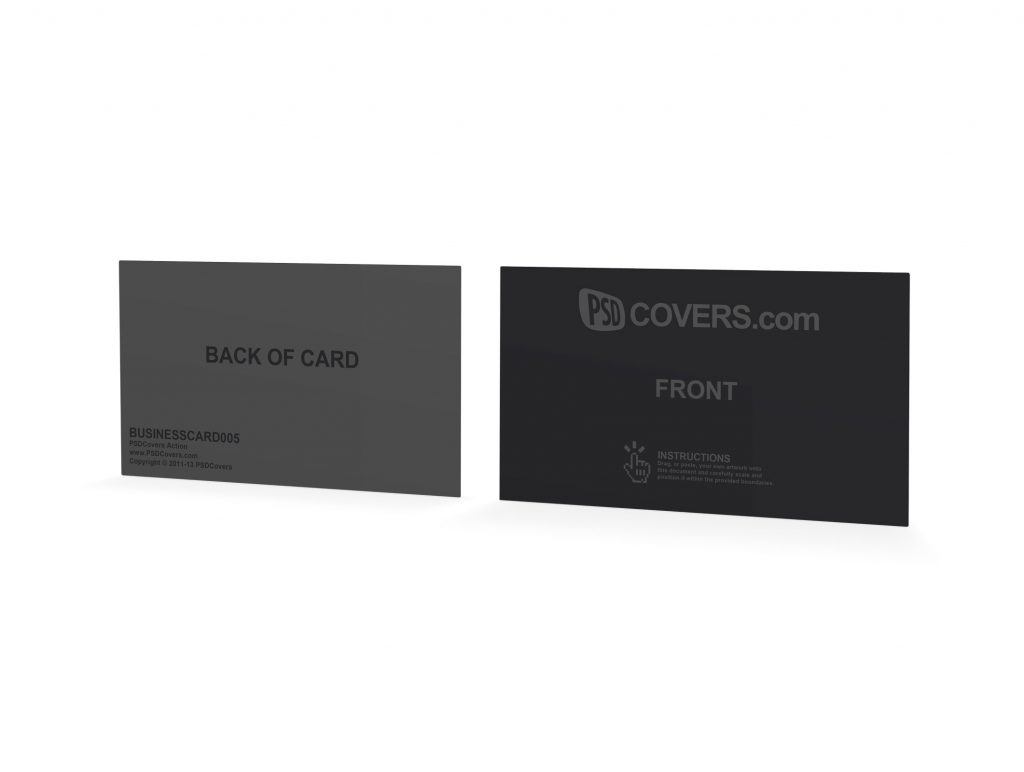 PSD Mockup Template Creative Business Cards