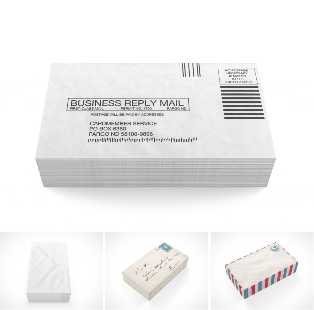 PSD Mockup Templates Business Envelopes