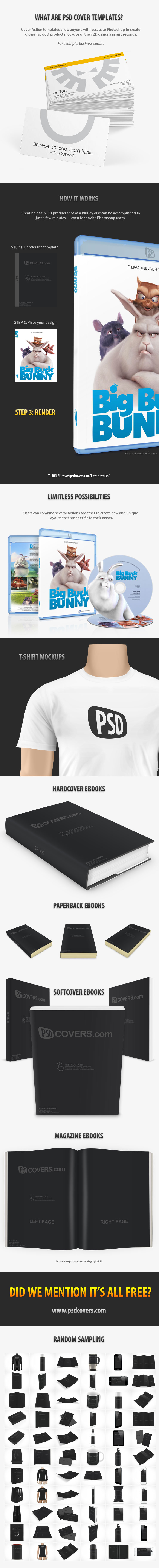 PSD Mock-up Templates Free Downloads