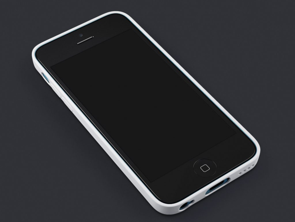 iPhone 5C Showcase Template