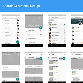 android-material-design-wireframes