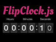 flip-clock-js