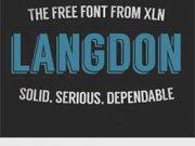 langdon-font