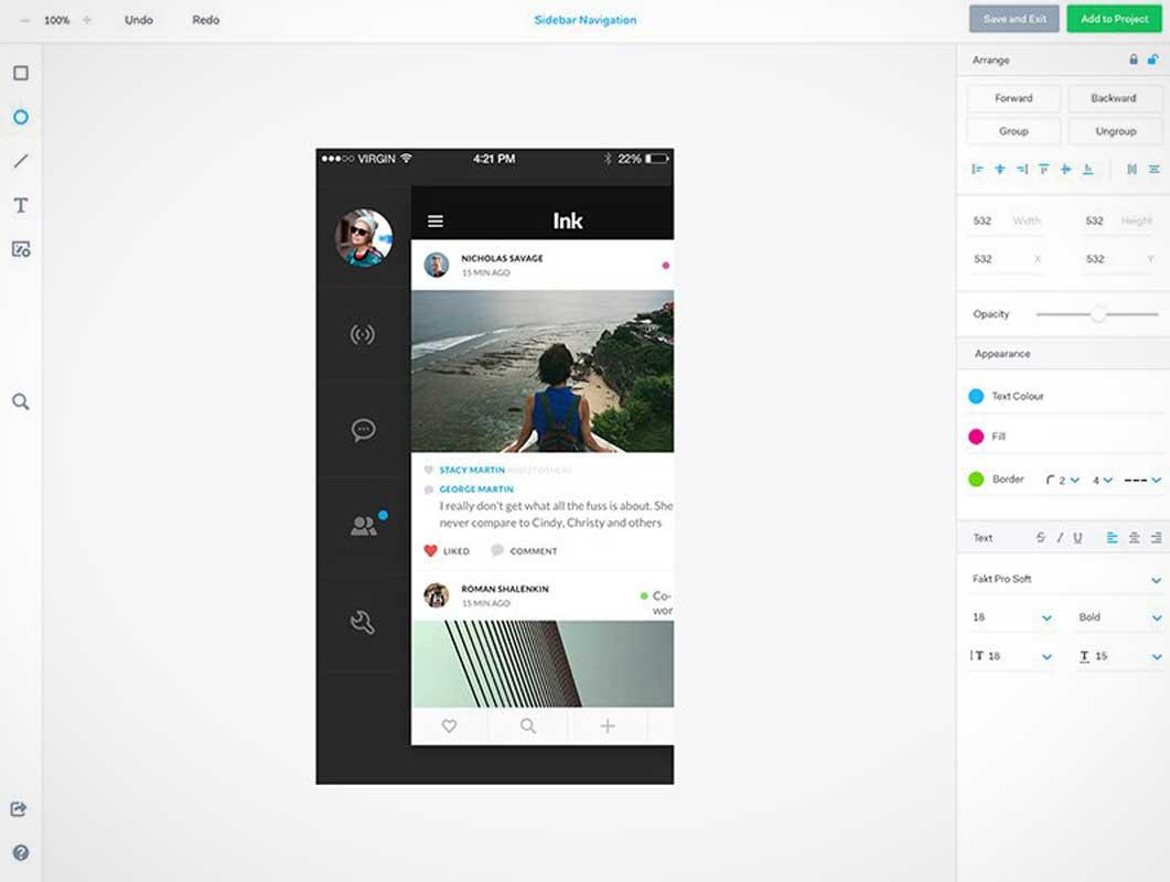 Marvel App Screenshot