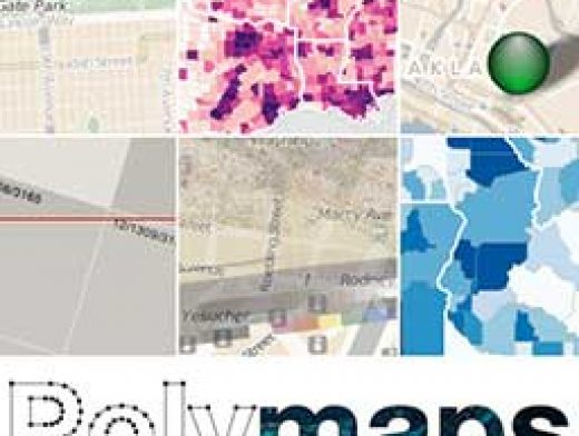 Polymaps JS library for image and vector tiled maps using