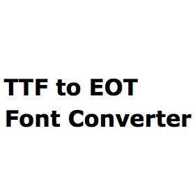 ttf-to-eot-font-converter