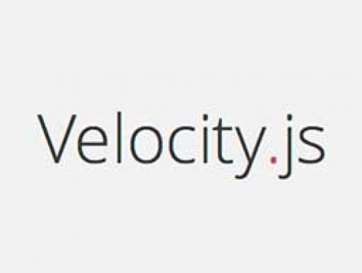 Velocity JS is a color animation, transform, loop, easing, SVG