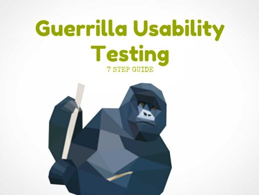 7 Step Guide to Guerrilla Usability Testing: DIY Usability Testing Method