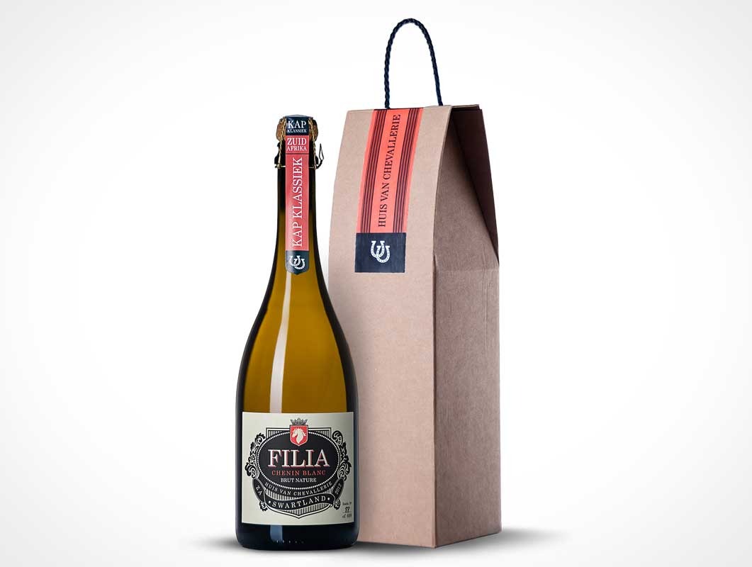 Chevallerie Filia Wine Packaging