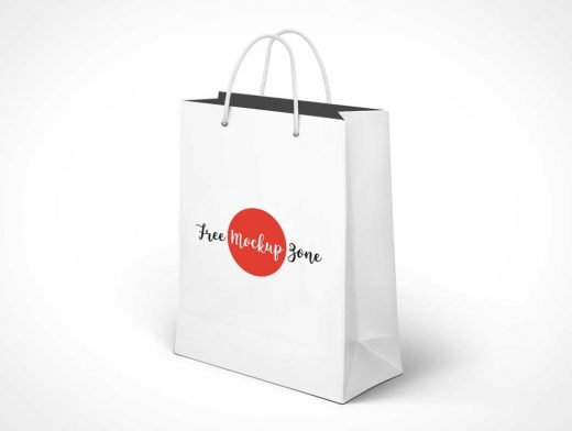 Free Awesome Shopping Bag PSD Mockup