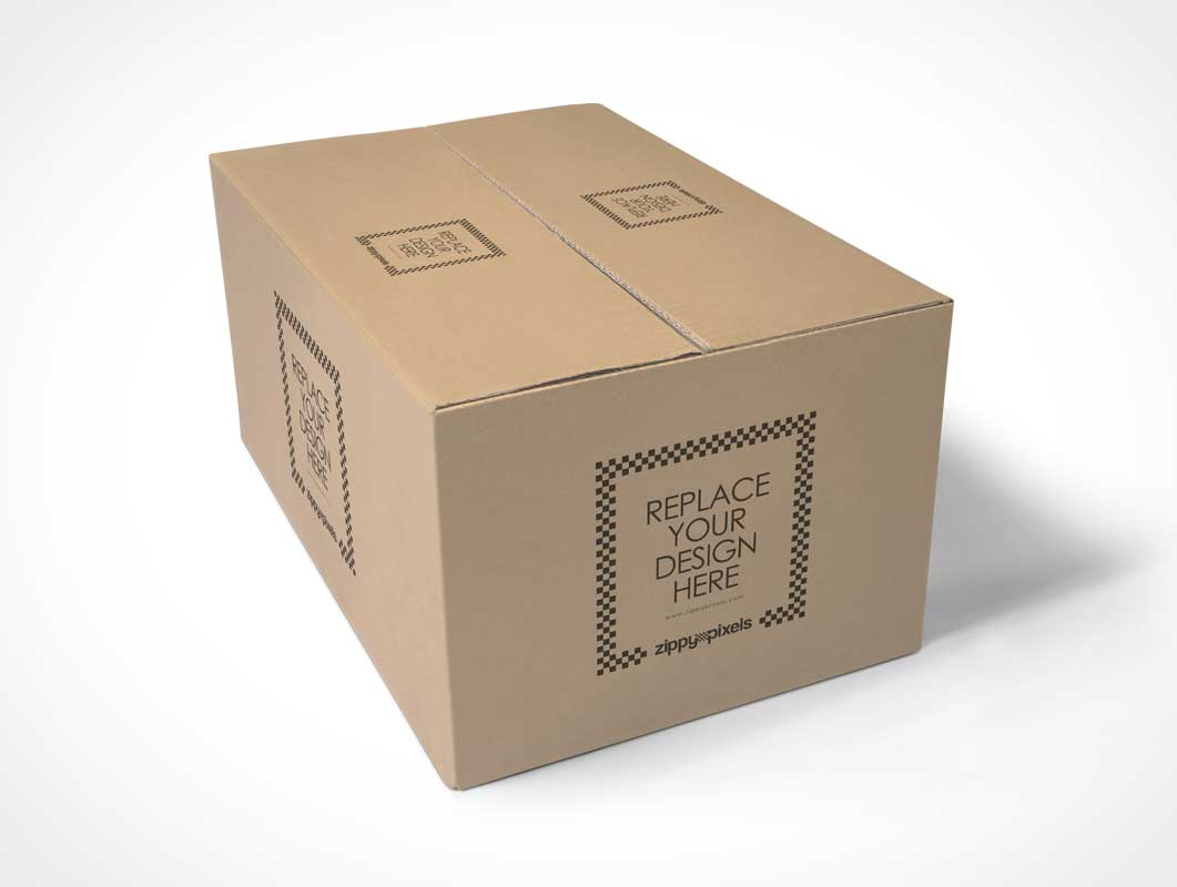 Free Packaging Box Psd Mockup Psd Mockups