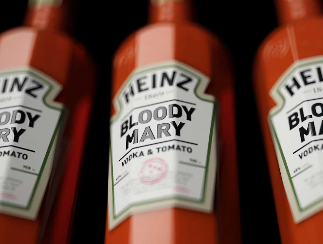Heinz Bloody Mary Cocktail (Concept)