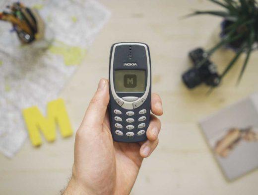 Nokia 3310 Photo Realistic PSD Mockup