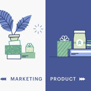 Product Vs. Marketing Illustration