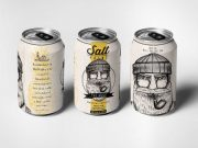 Salt Point Liquor Can Packaging Design