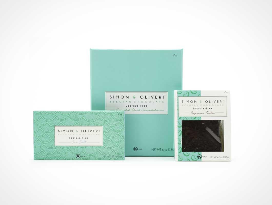 Simon & Oliveri Package Design