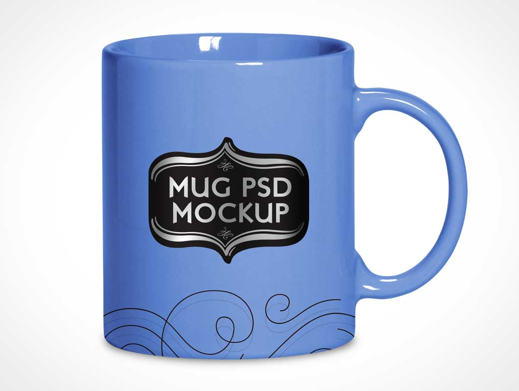 Ceramic Mug PSD Mockup