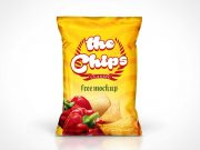 Chips Bag PSD Mockup
