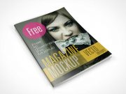 8 Free Magazine PSD Mockups Cover And Page Shots