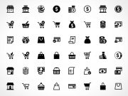 96 Free Simpleicon E-commerce