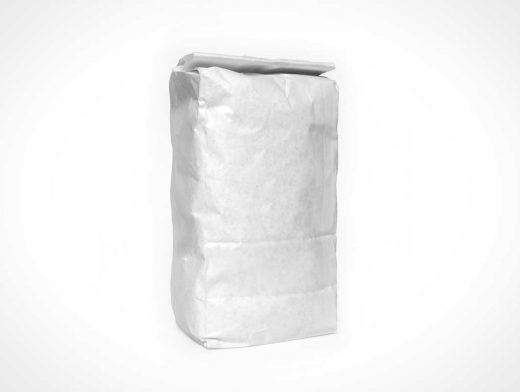 Blank Flour Bag PSD Mockup