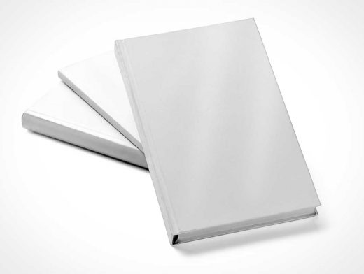Book PSD Mockup Hard Cover Presentation