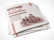 Brochure PSD Mockup Square Book Format