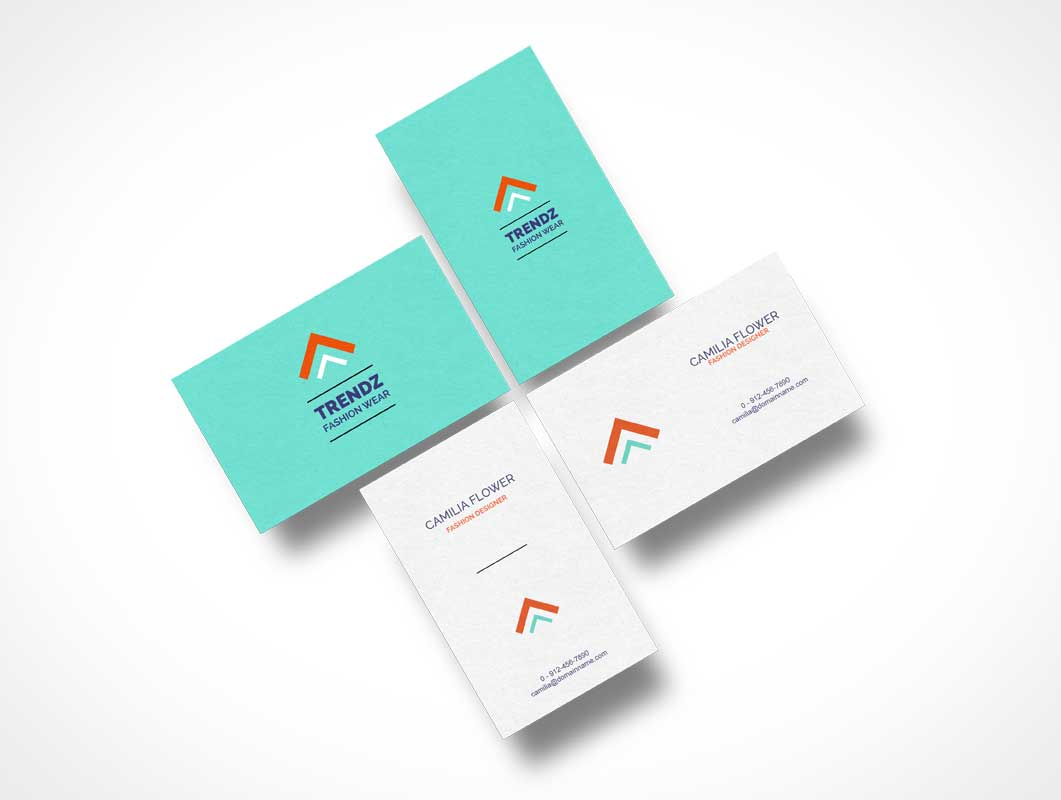 Floating set of free business cards psd mockup psd mockups floating set of free business cards psd mockup magicingreecefo Images