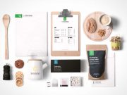 Food Packaging & Branding PSD MockUps