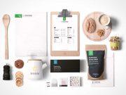 Food Packaging & Branding PSD MockUps