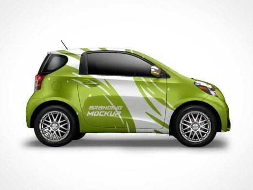 Free Environmental Car PSD Mockup