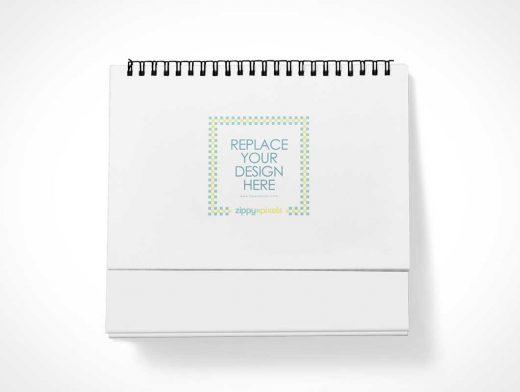 Free Table Calendar PSD Mockup With Beautiful Customization Options