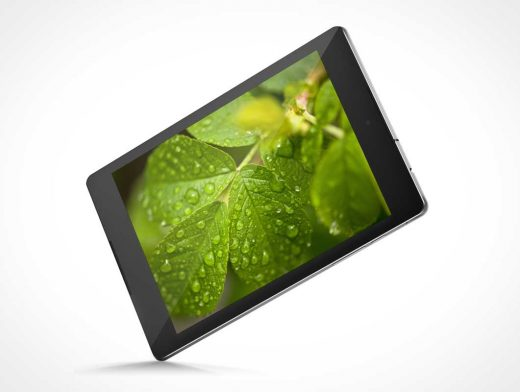 HTC Android Nexus 9 PSD Mockup
