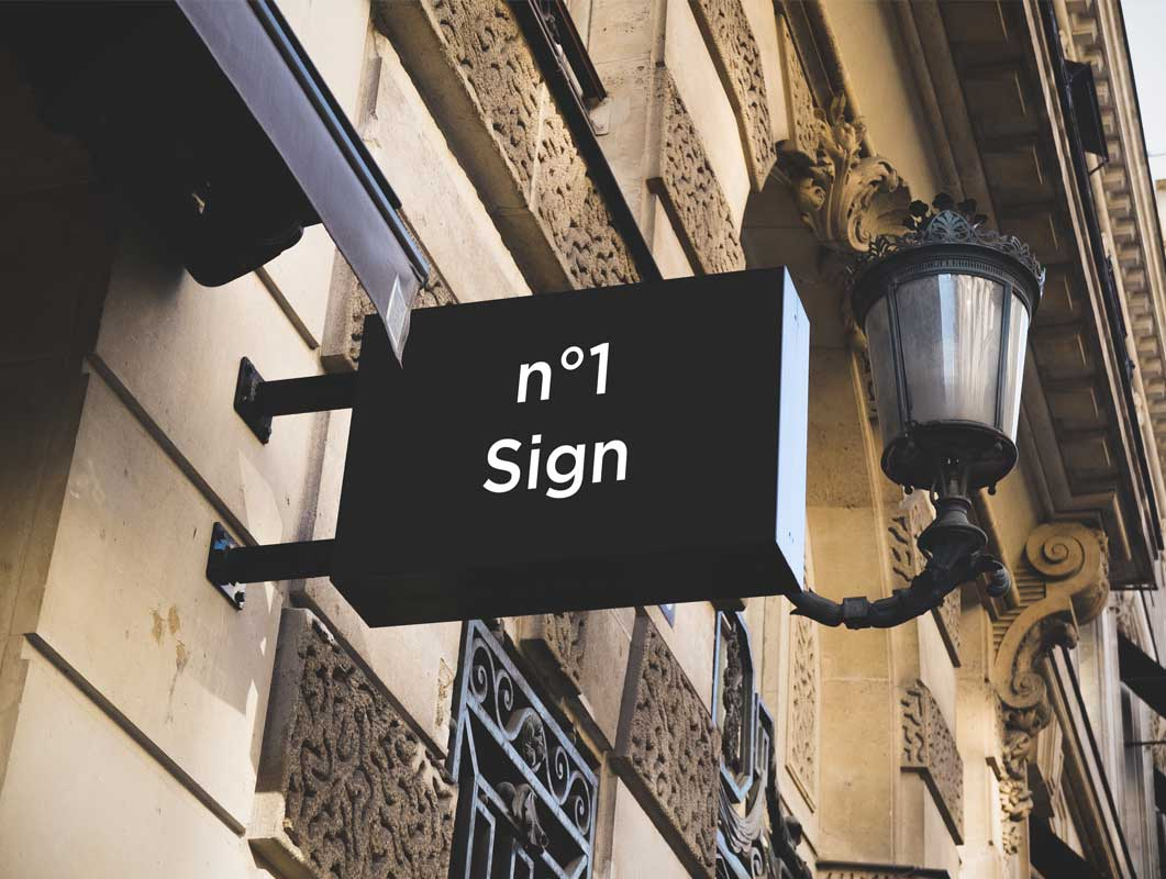 Hip Signs PSD Mockups Vol. 1