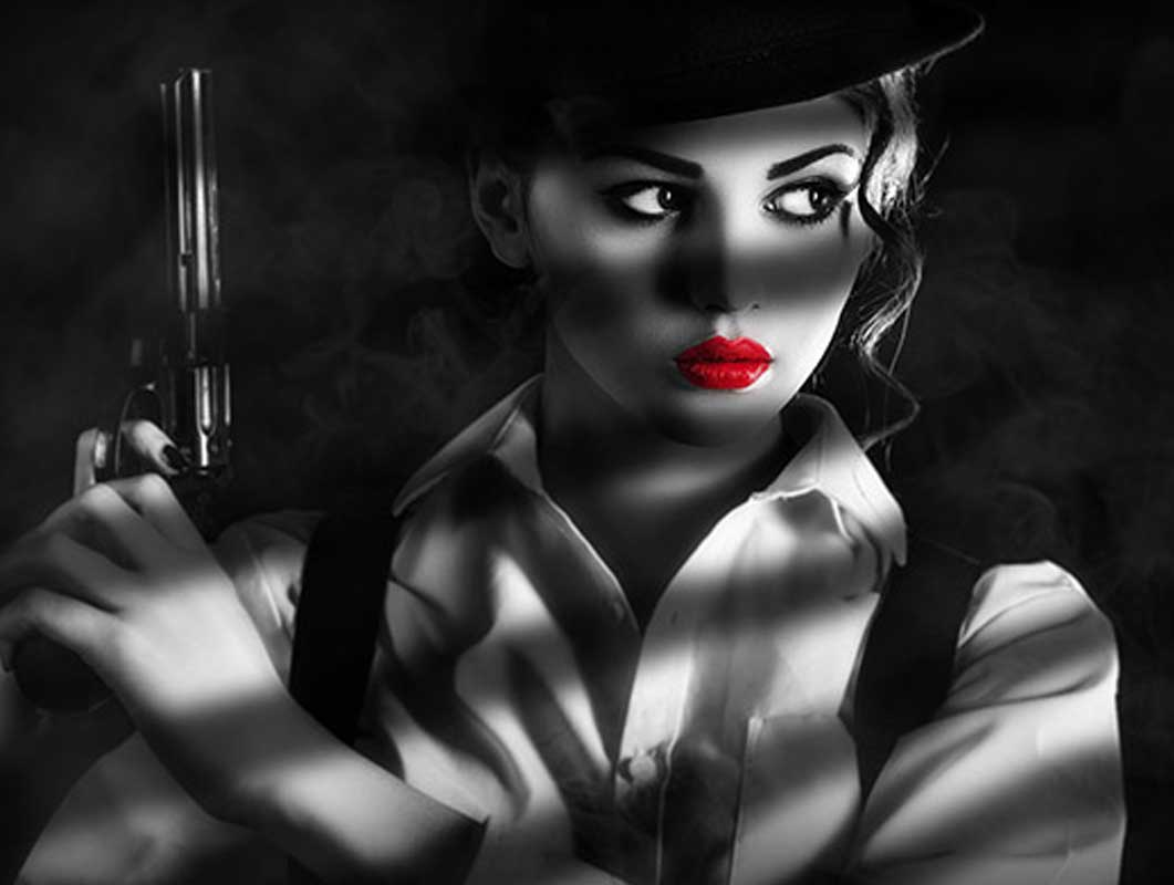 How To Create a Sin City Style Film Noir Effect in Photoshop