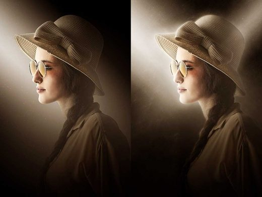 How to Create a Dark Photo Effect Action for Beginners in Adobe Photoshop